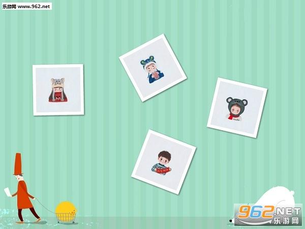 春节情侣头像卡通图片一左一右截图2