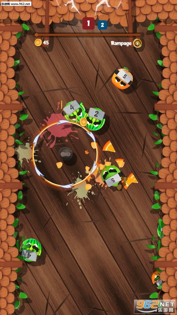 疯狂水果忍者攻击游戏破解版v4.1 手机版官网最新版_截图3