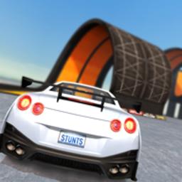 汽�特技比�超�坡道破解版v1.7.8