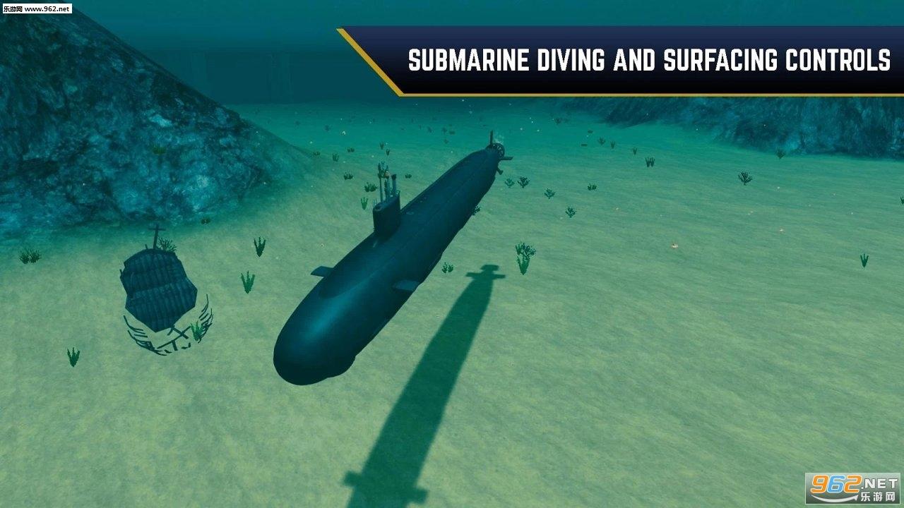 敌方水域潜艇与战舰中文版v1.139截图0