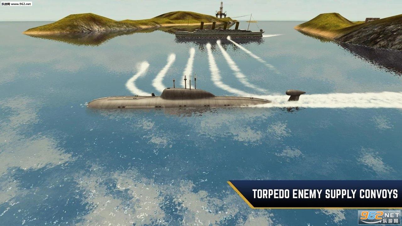 敌方水域潜艇与战舰中文版v1.139截图3