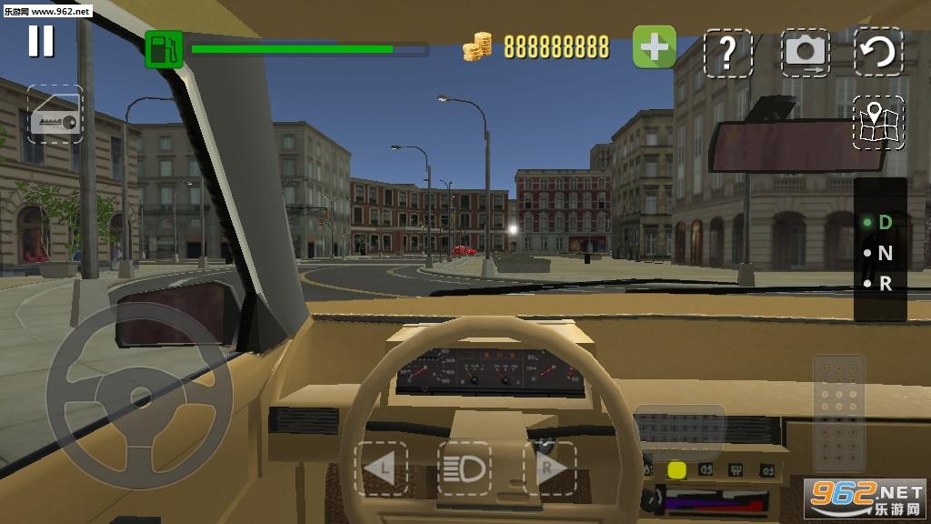真实汽车模拟驾驶游戏破解版v2.50_截图3