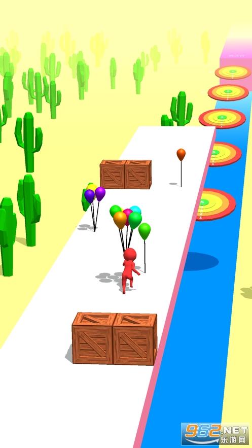 Balloon Run 3D官方版ios版截�D1