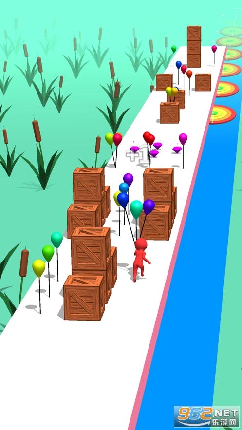 Balloon Run 3D官方版ios版截�D4