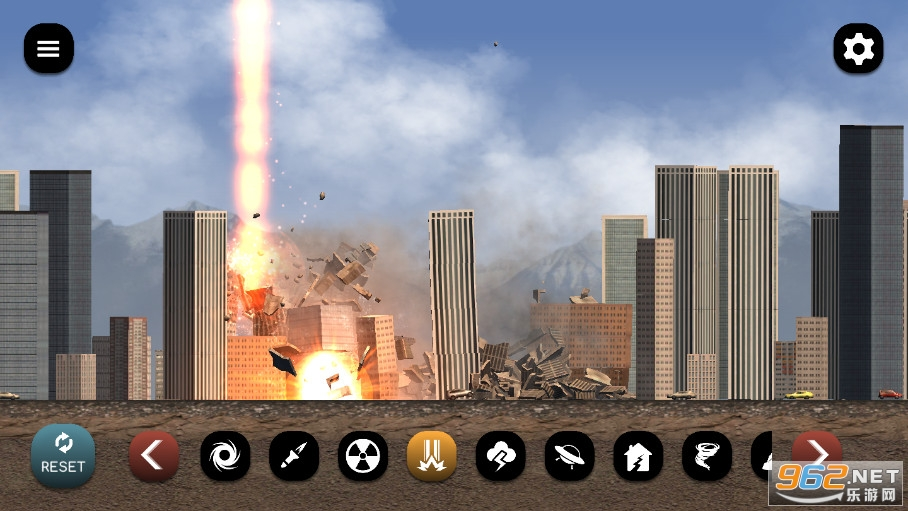 城市粉碎模拟器破解版无冷却v1.25.2截图1