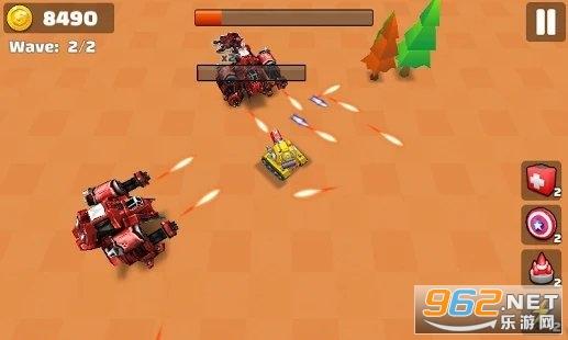 坦克io战斗射击小游戏v1.0去广告版截图0