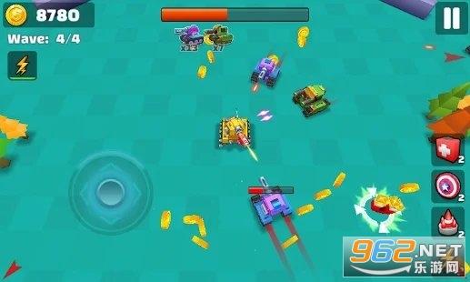 坦克io战斗射击小游戏v1.0去广告版截图2