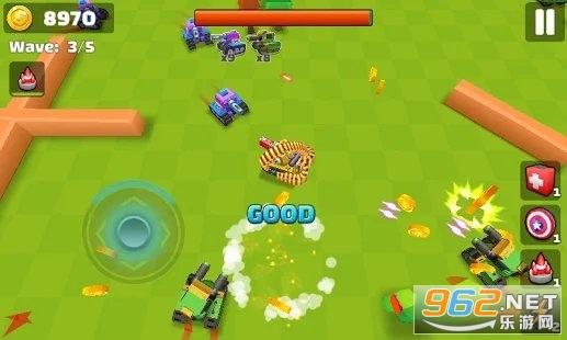 坦克io战斗射击小游戏v1.0去广告版截图3