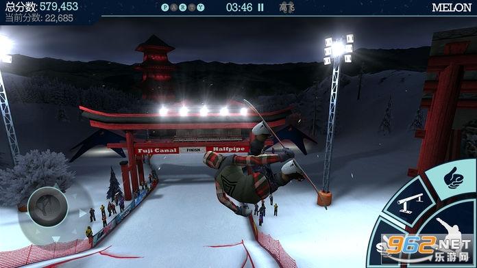 滑雪盛宴安卓版v1.3.3 (Snowboard Party)截图4