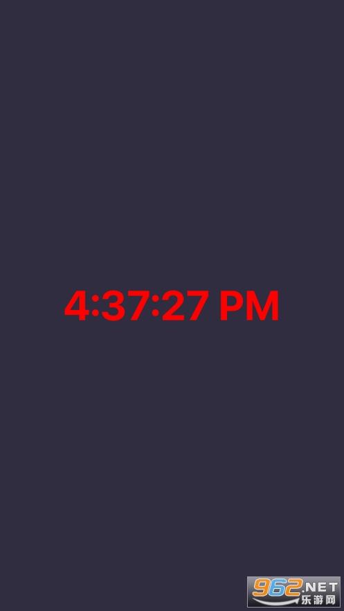居然时钟苹果版v1.0 官方版截图0