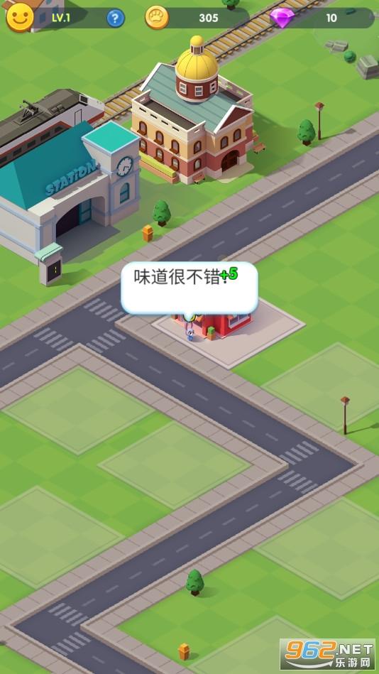 萌宠小镇放置商业街游戏v2.0.5 (Idle Animal Citys)截图1
