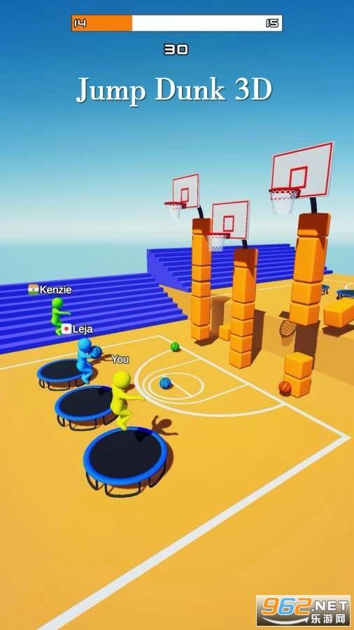 飛天大灌籃3D遊戲