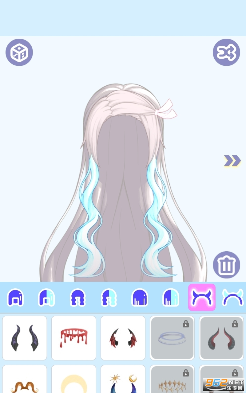 怪物女孩換裝安卓版破解版v1.0.5全解鎖截圖1