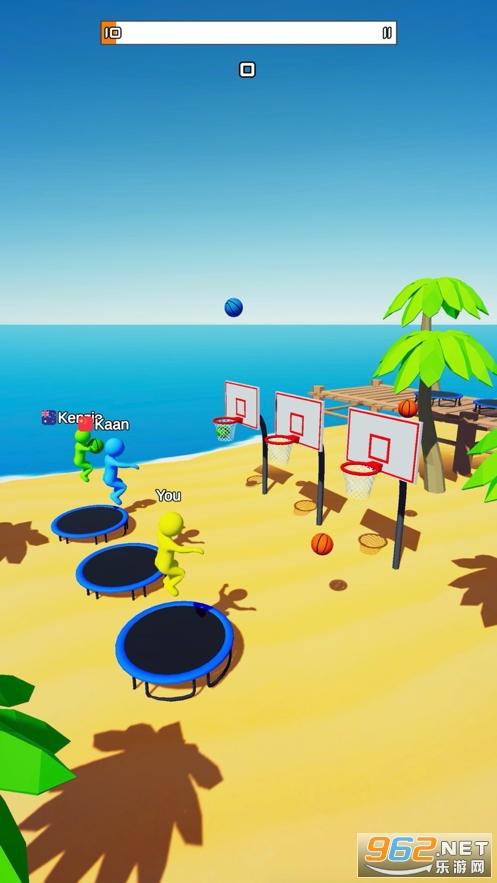 飛天大灌籃3D遊戲v0.6 (Jump Dunk 3D)截圖2