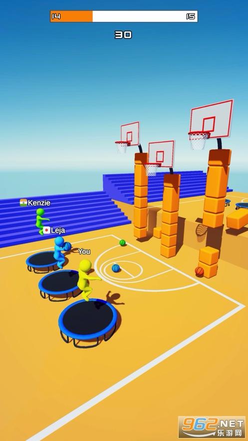 飛天大灌籃3D遊戲v0.6 (Jump Dunk 3D)截圖3