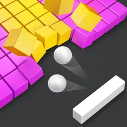 粉碎砖块3D游戏