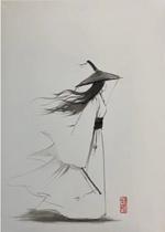 水墨丹青背景图片壁纸