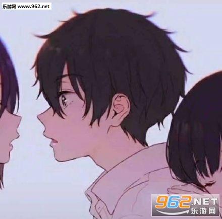 情侣头像三个人用的两女一男图片截图1
