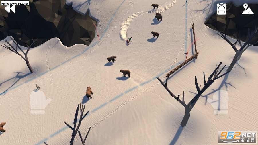 高山冒险滑雪游戏v0.3490截图3