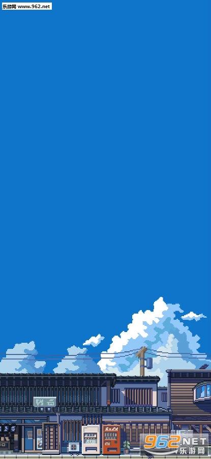 像素风壁纸高清图片