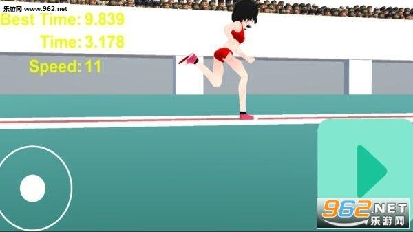 女高中生100米短跑破解版截图2