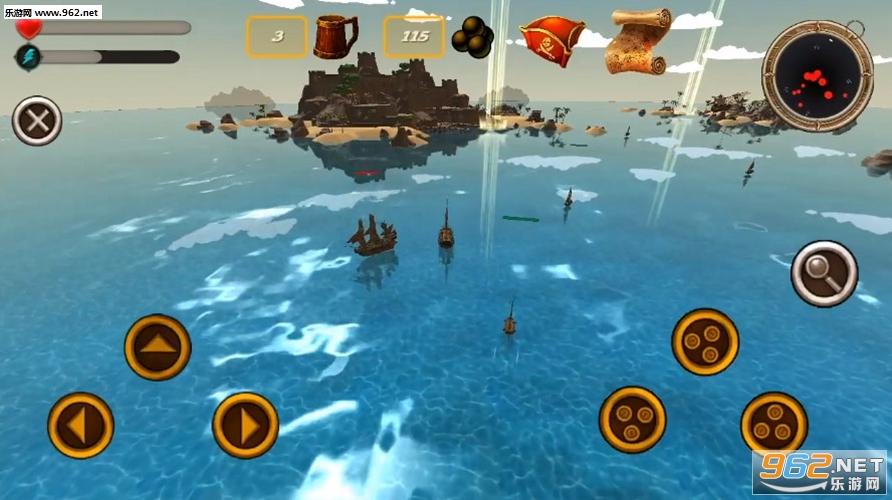 海盗模拟器破解版v1.1截图1