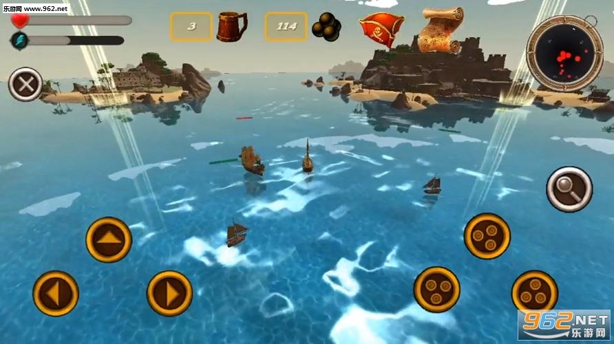 海盗模拟器破解版v1.1截图2