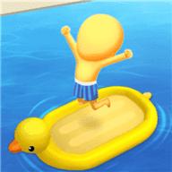疯狂游泳转圈圈游戏