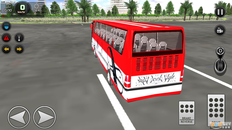 城市公交车驾驶破解版v5.0.02_截图3