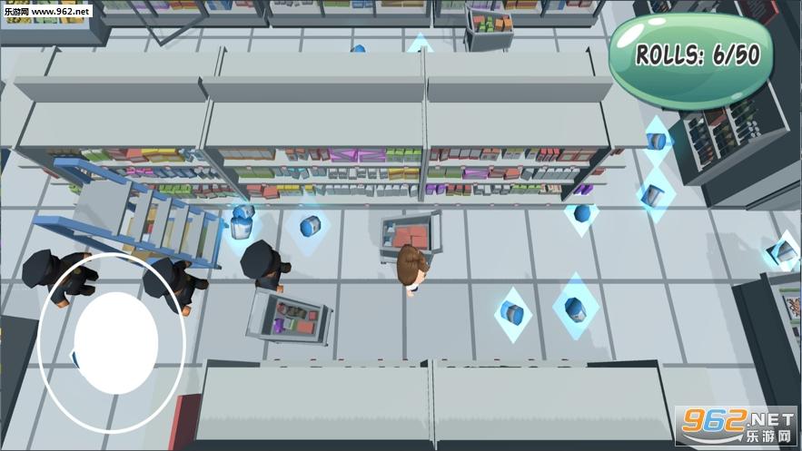 我抢卫生纸贼6游戏(Loo Roll Dash)v1.0_截图0