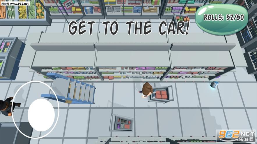 我抢卫生纸贼6游戏(Loo Roll Dash)v1.0_截图2