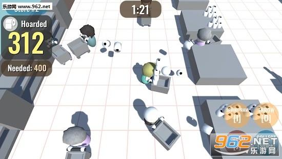 卫生纸战士游戏v0.1截图0