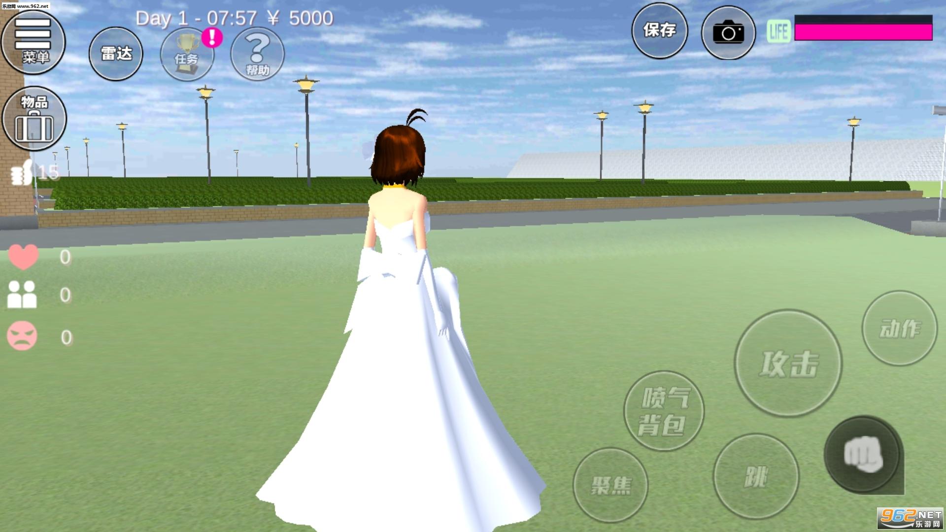 樱花校园模拟器2020新服版v1.034.20截图1