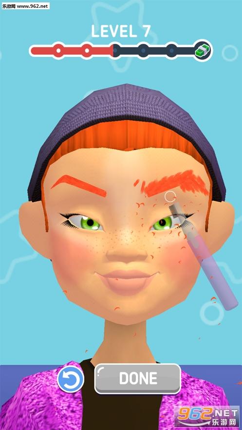 完美妆容官方版(Perfect Makeup 3D)v1.0_截图1