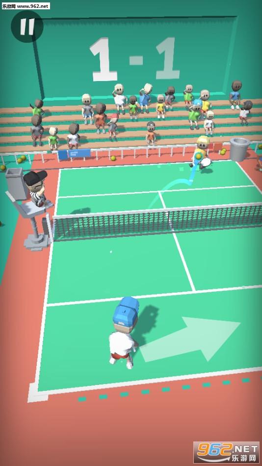 终极网球赛安卓版v1.0截图0