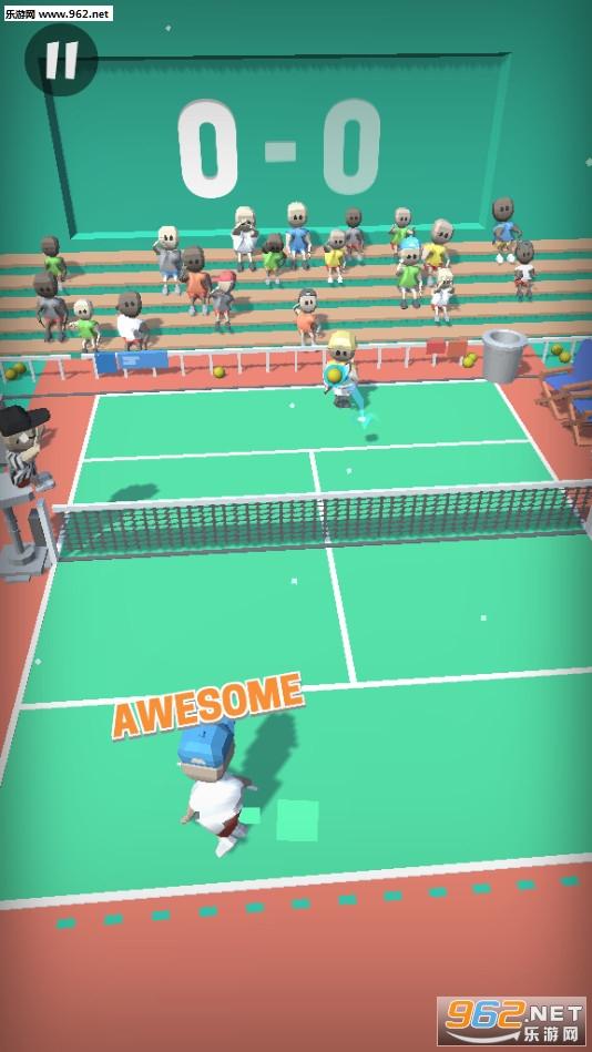 终极网球赛安卓版v1.0截图1