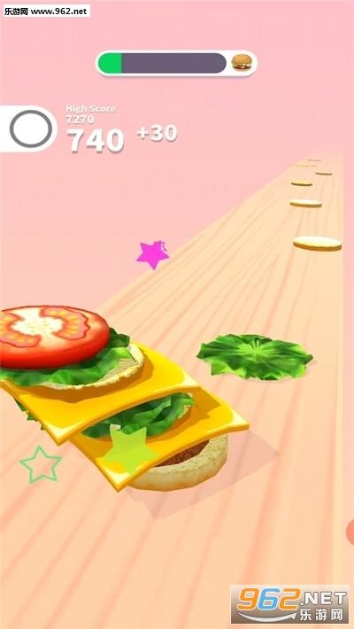 抖音汉堡达人游戏v1.0 安卓版截图2