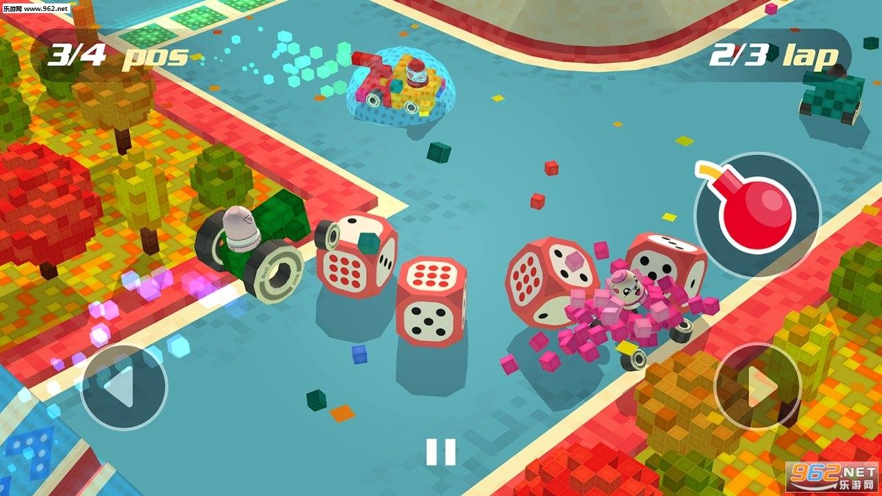 积木赛车游戏安卓版v1.1截图2