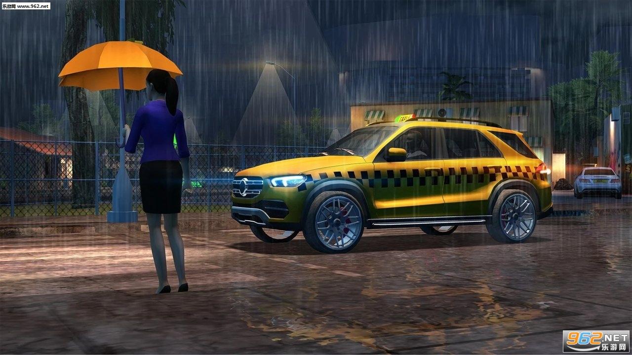 出租车驾驶模拟2020游戏1.2.8最新破解版v1.2.8截图3