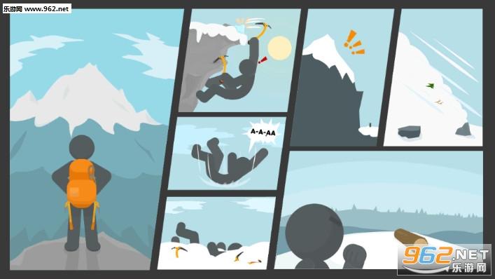 火柴人滑雪冒险安卓版v0.1截图0