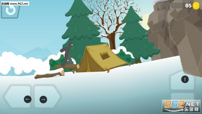 火柴人滑雪冒险安卓版v0.1截图3