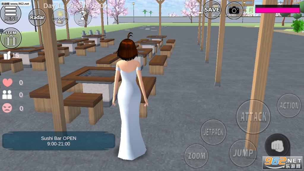 樱花校园模拟器更新版2020v1.036.01汉化版截图0