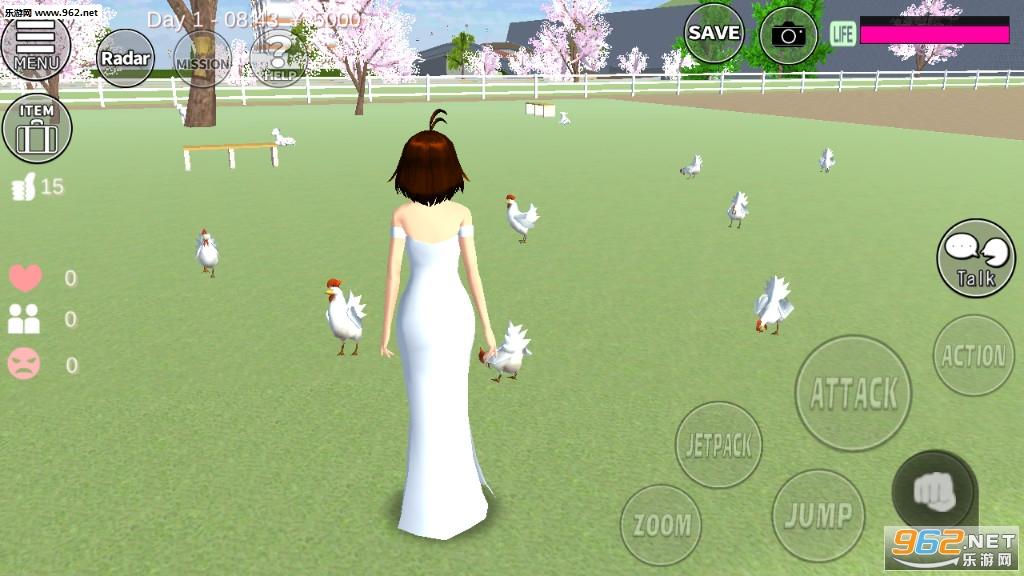 樱花校园模拟器更新版2020v1.036.01汉化版截图1