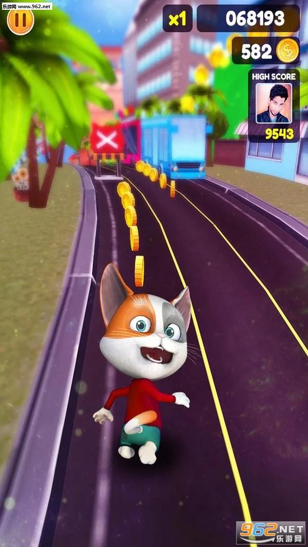 汤姆跑酷猫安卓版v2.6 中文版截图3