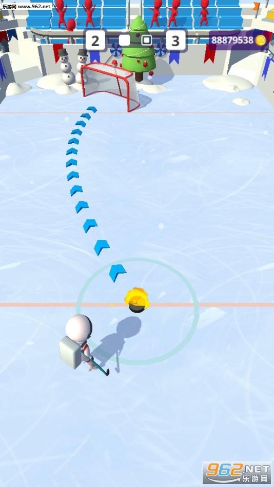 欢乐冰球游戏破解版v1.8.1去广告版截图0