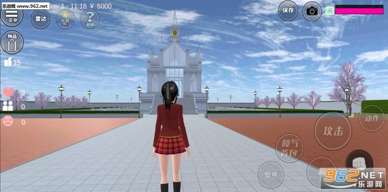 樱花校园模拟器医护模式新服饰免费解锁版v1.034.20 最新中文版截图3