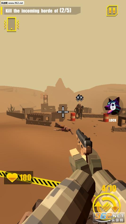 僵尸射手射击游戏无限金币破解版v1.0.8手机版截图0
