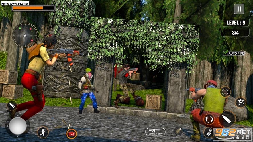 FPS 3D遭遇射击官方版v1.0 中文版截图1