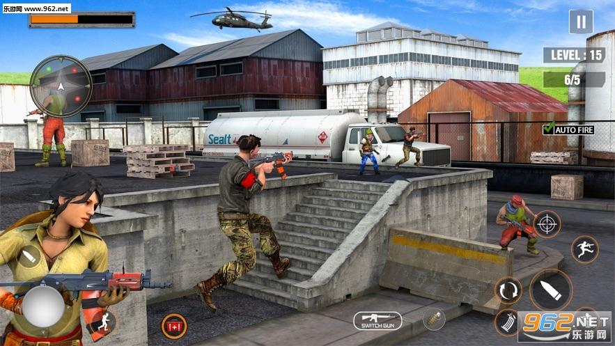 FPS 3D遭遇射击官方版v1.0 中文版截图3