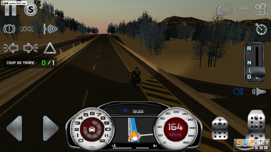 真实驾驶模拟摩托车无限金币版v4.1最新破解版截图0